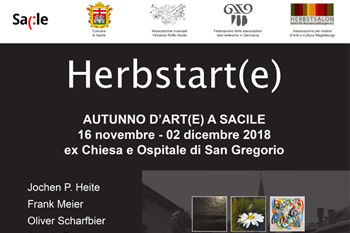 Herbstart(e) in Sacile, Flyer